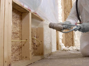 Langley spray foam insulation services for residential and for Alternatives to spray foam insulation